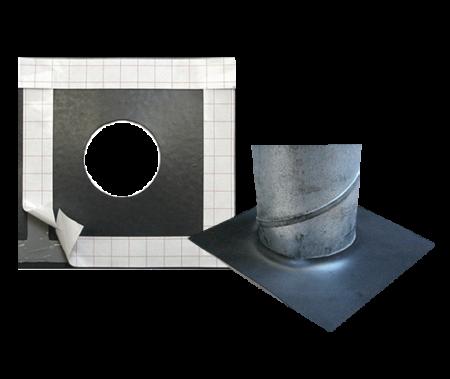 Dampspærremembran til tætning omkring stålskorsten