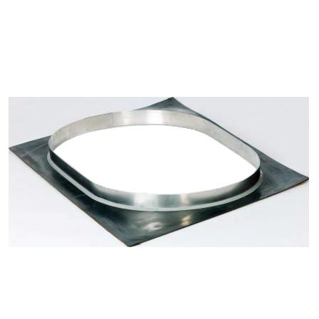 Undertagsgennemføring – Undertagsgennemføringen anvendes hvor stålskorstenen monteres gennem et undertag