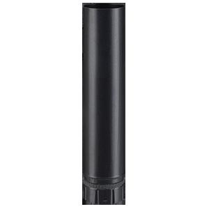 Røgrør – uisoleret – 0,5 meter – ø 80 mm