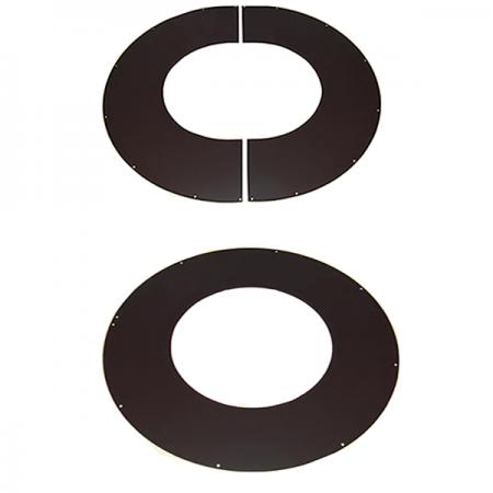 Loftkrave 0-10 Grader ø80mm