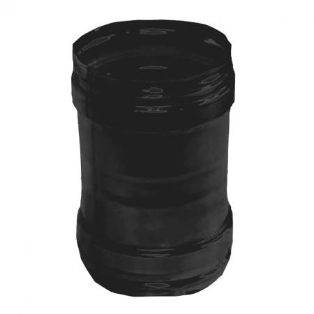 Røgrør - uisoleret - Muffestykke - ø 80 mm